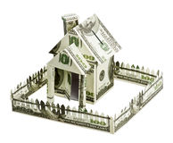 Dom robić pieniądze Obraz Stock