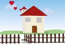 Dom rodzinny ilustracja wektor