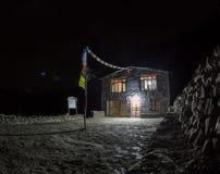 dom rodzinny noc zdjęcia royalty free