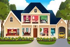dom rodzinny wizerunku jpg wektor ilustracji
