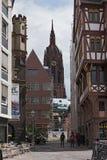 Dom-Roemer проектируют, римейк старый центр города, Франкфурт, Германия стоковое фото