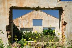 dom rujnujący Fotografia Royalty Free