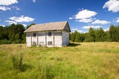 dom rzucający drewniany Obrazy Royalty Free