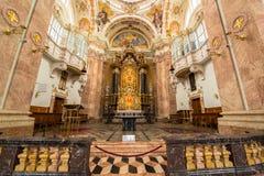Dom Sankt Jakob, catedral de Innsbruck fotografia de stock royalty free