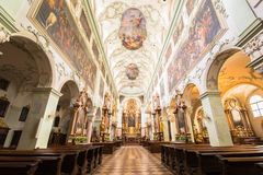 Dom Sankt Jakob, Cathedral of Innsbruck Stock Image