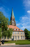 Dom of Schleswig in Schleswig-Holstein, Germany! Stock Image
