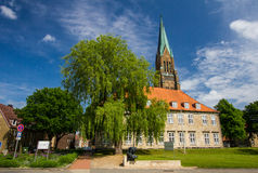 Dom of Schleswig in Schleswig-Holstein, Germany. Royalty Free Stock Image