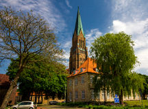 Dom of Schleswig in Schleswig-Holstein, Germany Royalty Free Stock Image