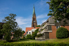 Dom of Schleswig in Schleswig-Holstein Stock Images