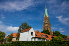 Dom of Schleswig in Schleswig-Holstein, Germany Royalty Free Stock Images