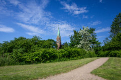 Dom of Schleswig in Schleswig-Holstein. Stock Photography