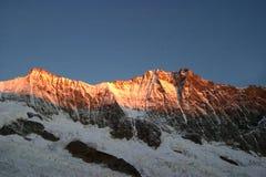 Dom-Spitze im Sonnenuntergang stockfoto
