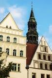 Dom St Marien w Zwickau Zdjęcia Royalty Free