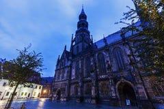 Dom St Marien in Zwickau Fotografia Stock Libera da Diritti
