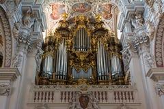 Dom St. Stephan - organy (Passau) Zdjęcia Stock