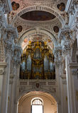 Dom St. Stephan (Passau) - organs Royalty Free Stock Photography