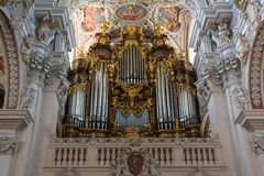 Dom St. Stephan (Passau) - organs Stock Photos