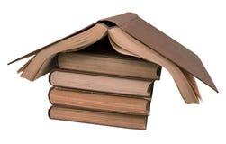 Dom stare książki Zdjęcia Stock