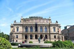 Dom sztuka, galeria i filharmonia w Praga, Zdjęcia Royalty Free
