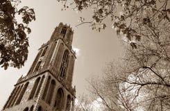 Dom toren, Utrecht Royalty-vrije Stock Foto