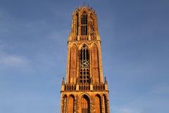Dom toren in Utrecht, Holland Royalty-vrije Stock Foto