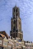 Dom toren Utrecht, Holland Royalty-vrije Stock Afbeeldingen