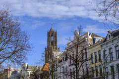 Dom toren Utrecht, Holland Stock Afbeelding