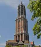 Dom Tower, Netherlands Royalty Free Stock Photography