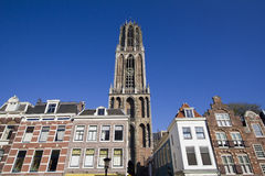 Dom Tower of Utrecht, Holland royalty free stock photos