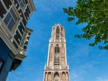Dom Tower in Utrecht, Netherlands Stock Image