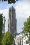 Dom Tower in Utrecht Stock Photography