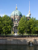 Dom van Berlijn Stock Afbeeldingen