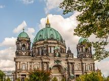 Dom van Berlijn Kathedraal, Duitsland Royalty-vrije Stock Foto's