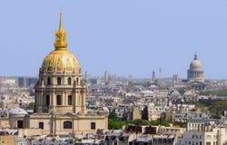 Dom van Invalides, Parijs Stock Afbeelding