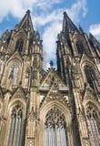 Dom van Koelner (de Kathedraal van Keulen) Royalty-vrije Stock Foto's