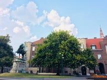 Dom vierkante Szeged royalty-vrije stock fotografie