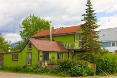 Dom w Alaska Zdjęcie Royalty Free