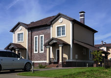 Dom w Ameryka Fotografia Royalty Free