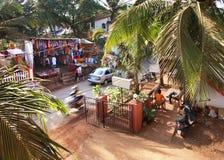 Dom w Baga goa indu Fotografia Royalty Free