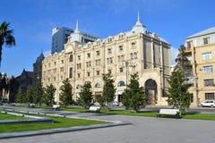 Dom w Baku fotografia royalty free