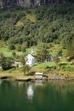 Dom w dolinie obraz stock