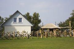 dom w domku na wsi Zdjęcia Royalty Free