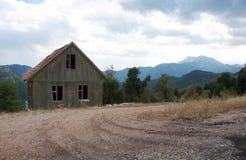 Dom w górach Obrazy Royalty Free
