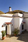 Dom w jamie w Guadix zdjęcia royalty free