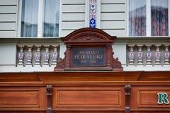 Dom w Karlsbadzkim Zdjęcie Stock