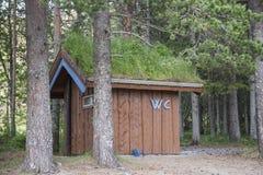dom w lesie Zdjęcia Royalty Free