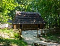 Dom w parkowym Shevchenko Zdjęcie Royalty Free