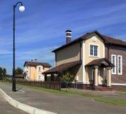 Dom w sąsiedztwie Ameryka Zdjęcie Stock
