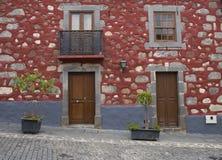 Dom w Sta Brigida miasteczku w Granie Canaria Fotografia Stock