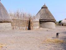 Dom w Sudan Zdjęcia Stock
